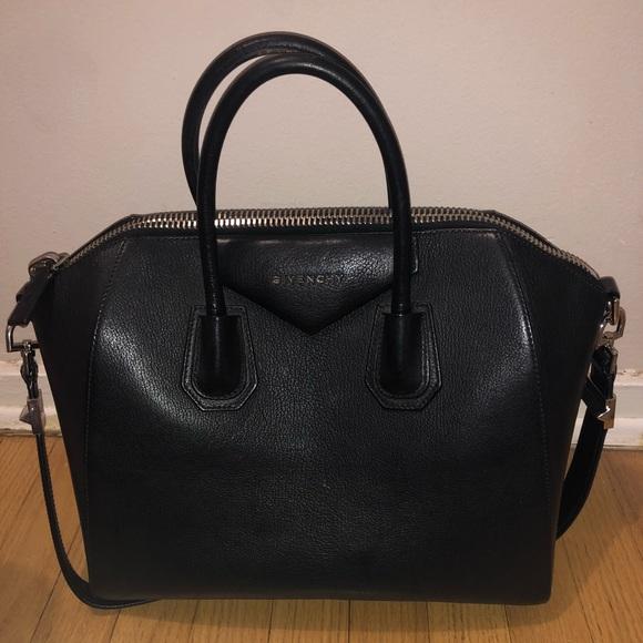 Givenchy Handbags - Givenchy black nappa 'antigonia' medium